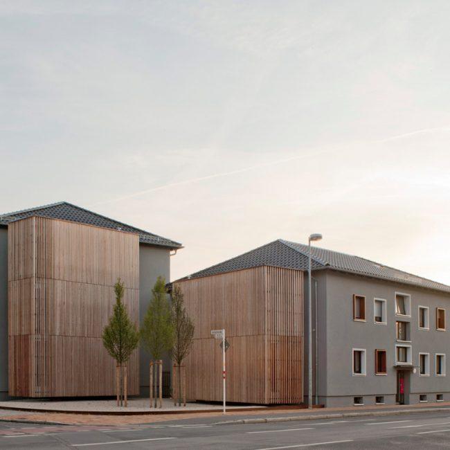 Nickel und Wachter Architekten - Holz in der Stadt