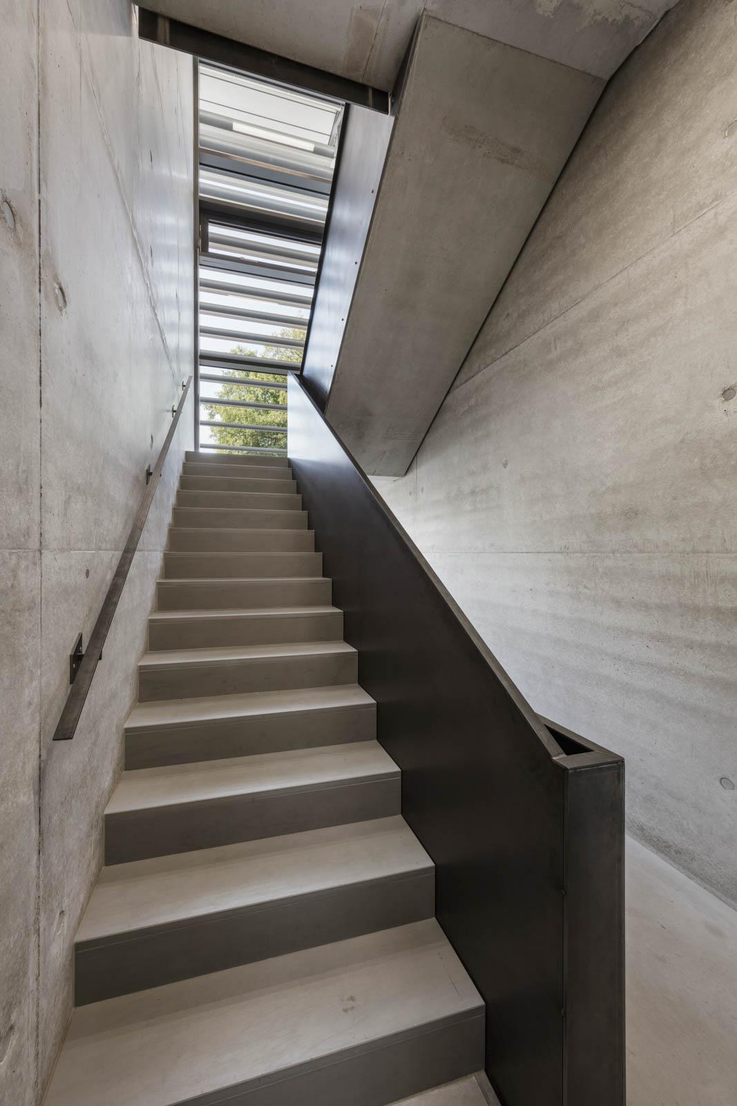 Nickel und Wachter Architekten - Stettler Treppenhaus