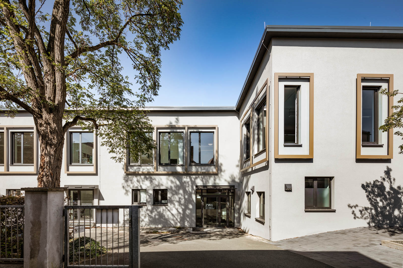 Nickel und Wachter Architekten - energetische Sanierung Uni Bamberg