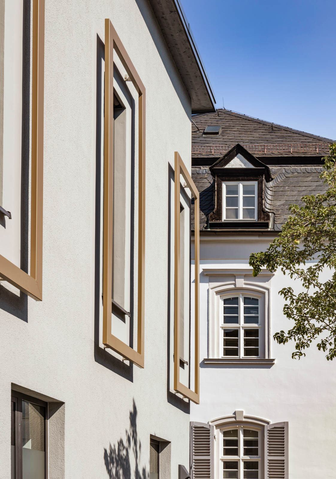 Nickel und Wachter Architekten - energetische Sanierung Uni Bamberg Fenster