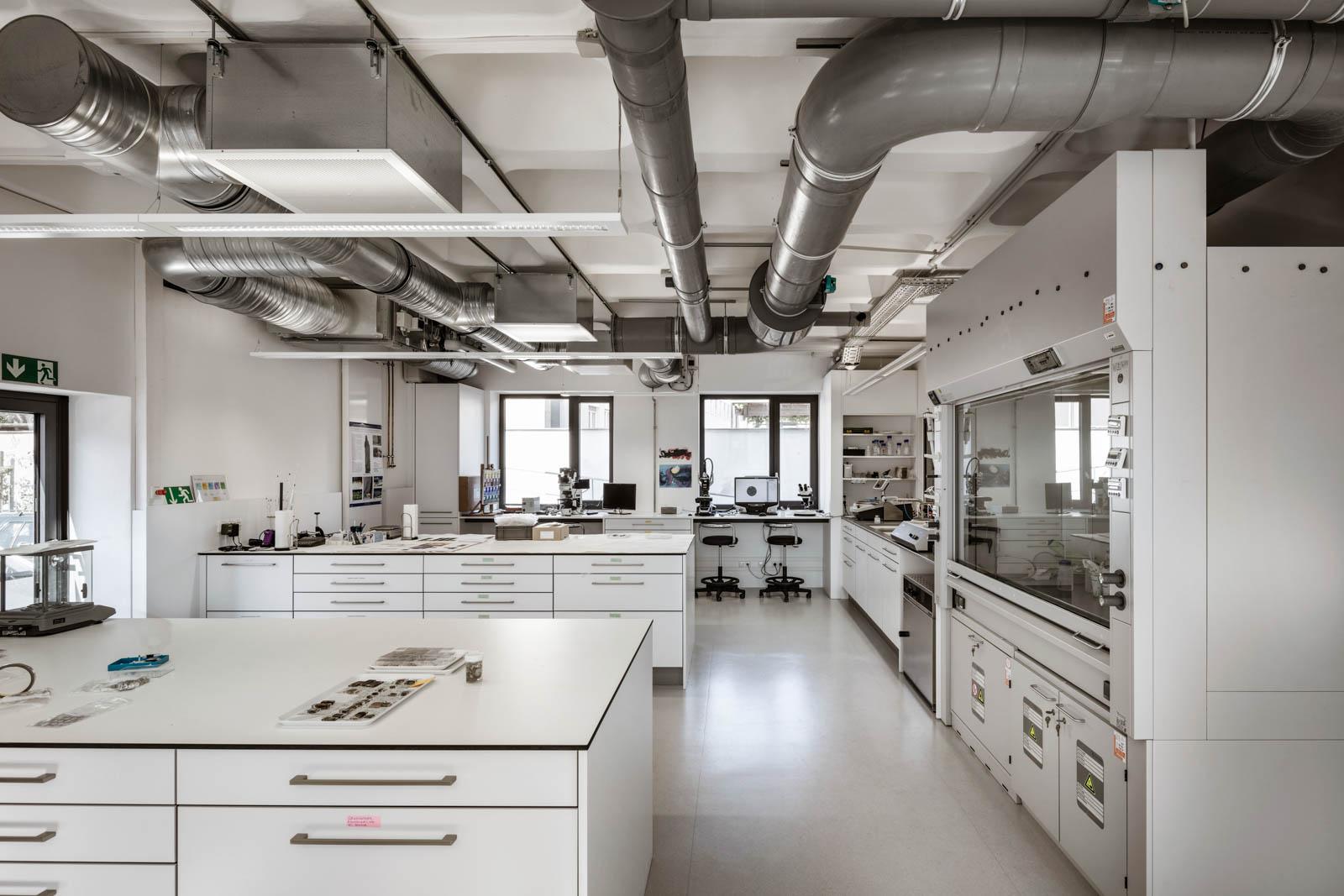 Nickel und Wachter Architekten - energetische Sanierung Uni Bamberg Labor