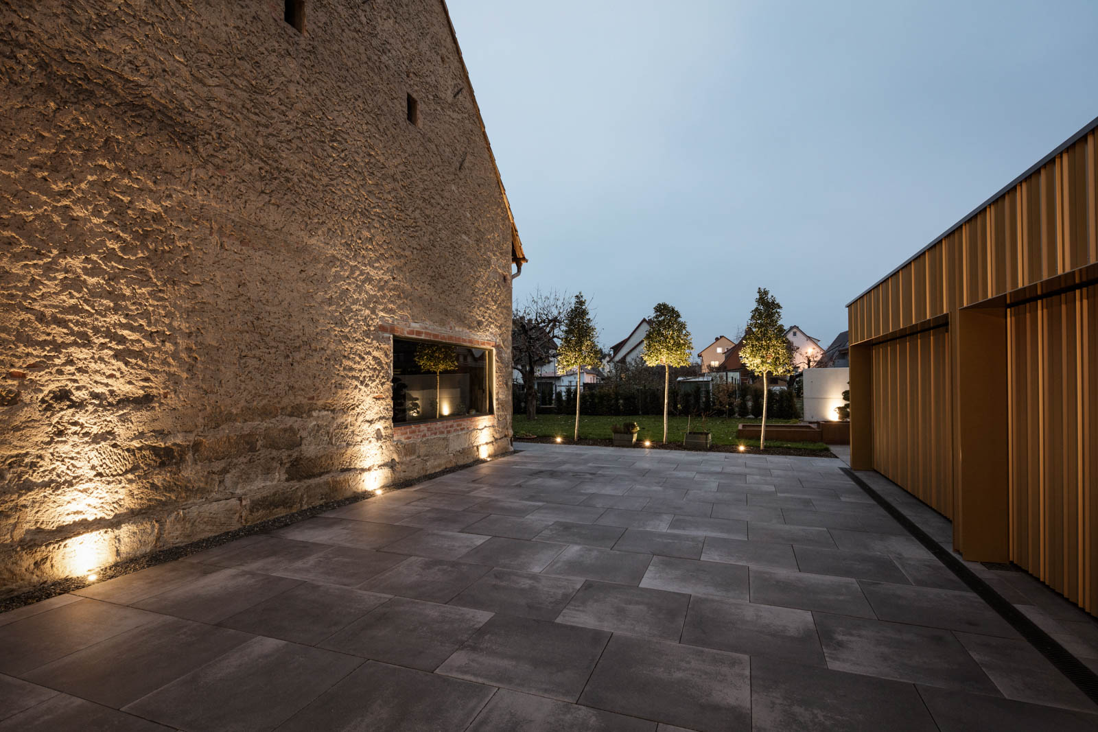Nickel und Wachter Architekten - Gartenneugestaltung