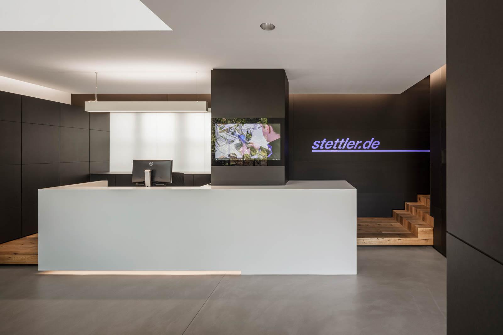 Nickel und Wachter Architekten - Stettler Empfang