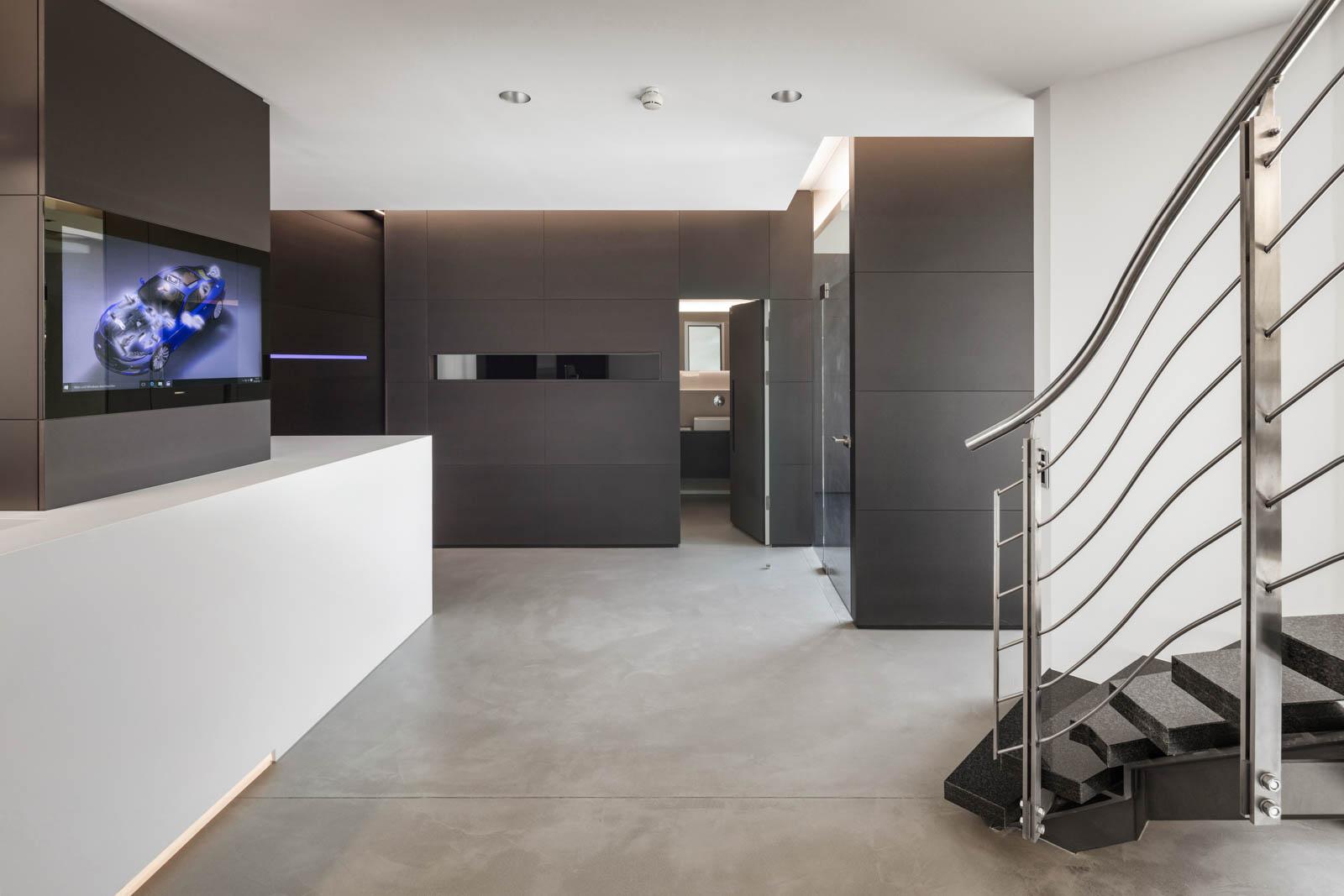 Nickel und Wachter Architekten - Stettler Haupteingang