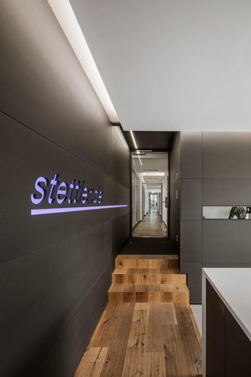 Nickel und Wachter Architekten - Stettler.de Haupteingang