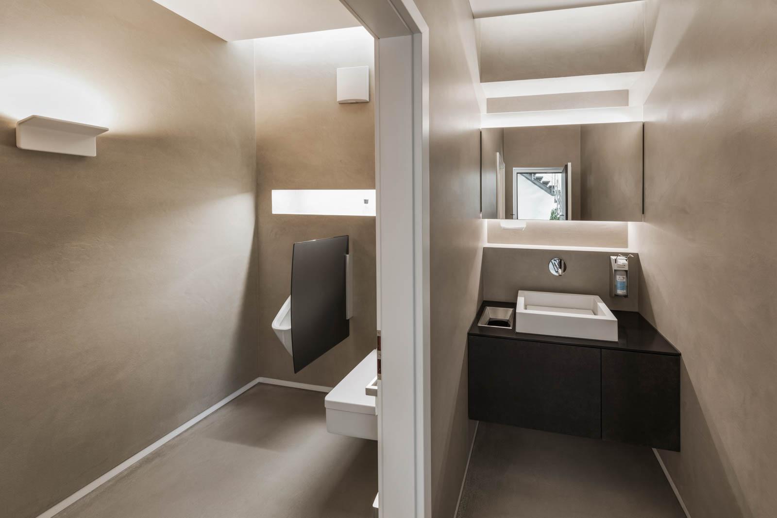 Nickel und Wachter Architekten - Stettler Sanitärbereich