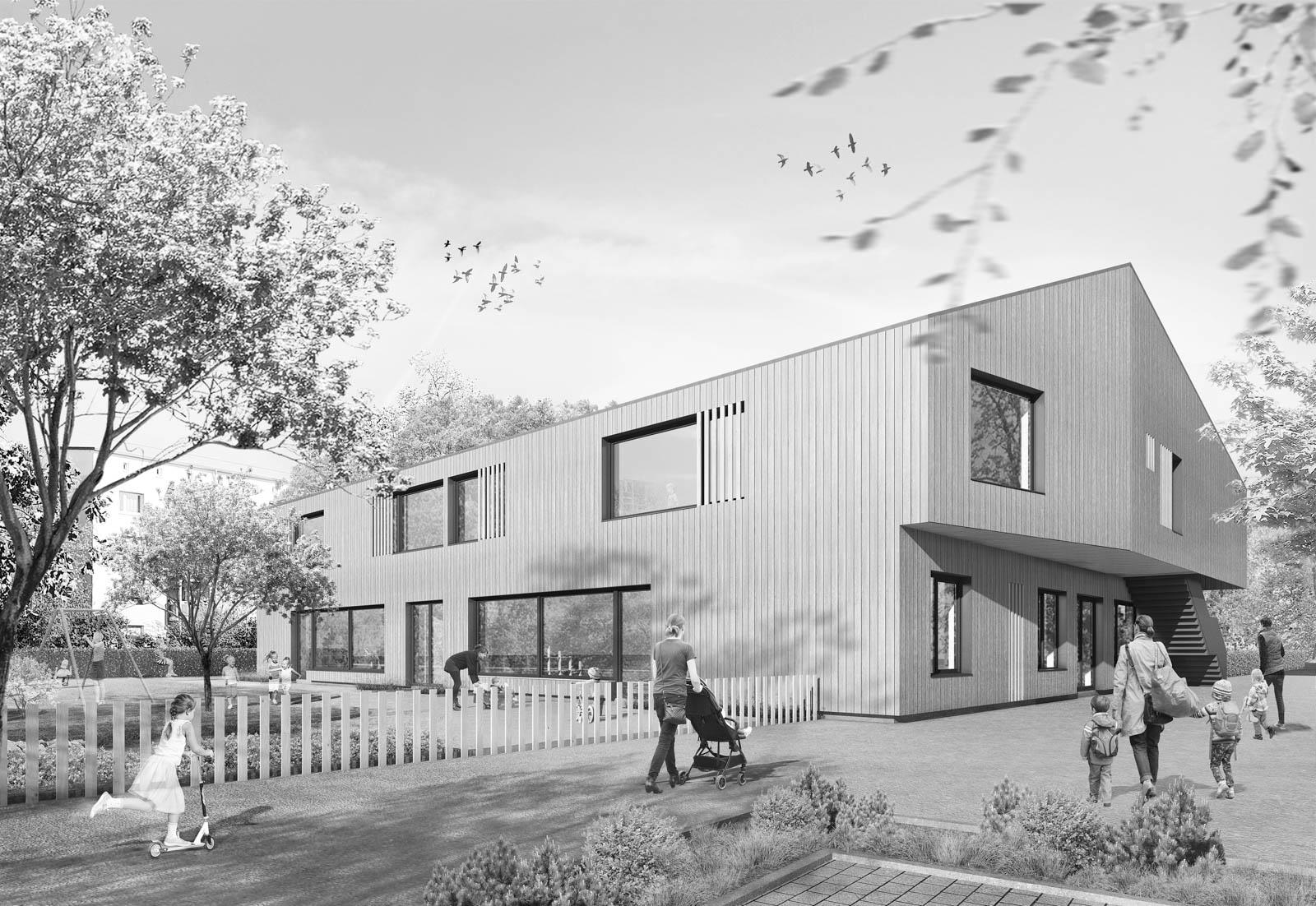 Nickel und Wachter Architekten - Kita Jean-Paul