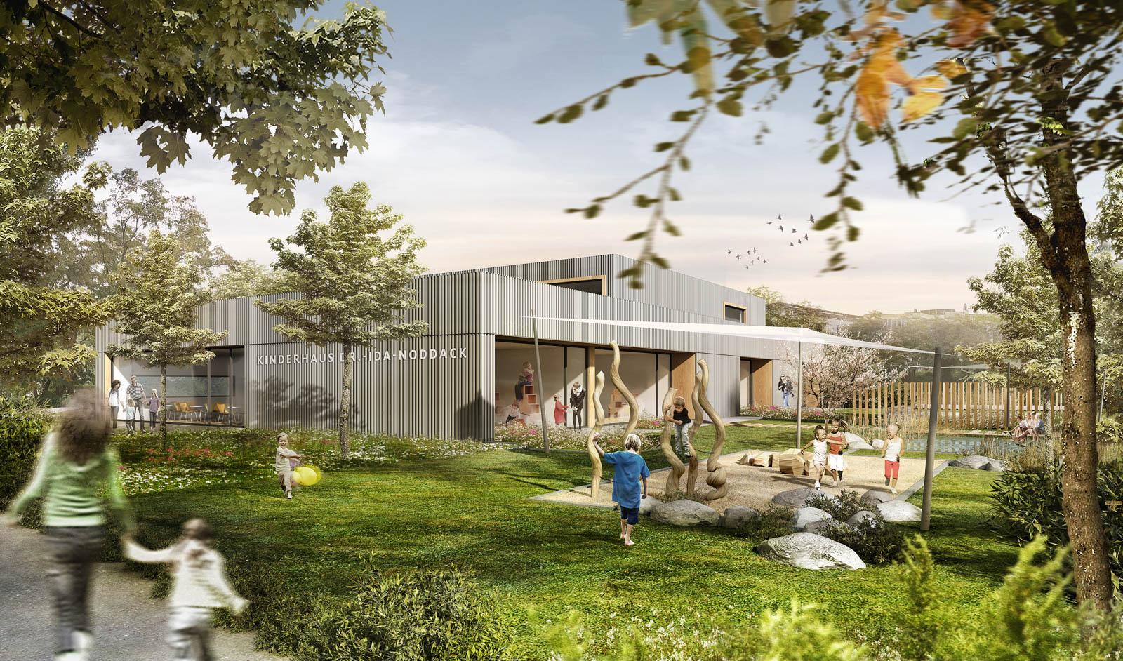 Nickel und Wachter Architekten - KiTa Ida Noddack