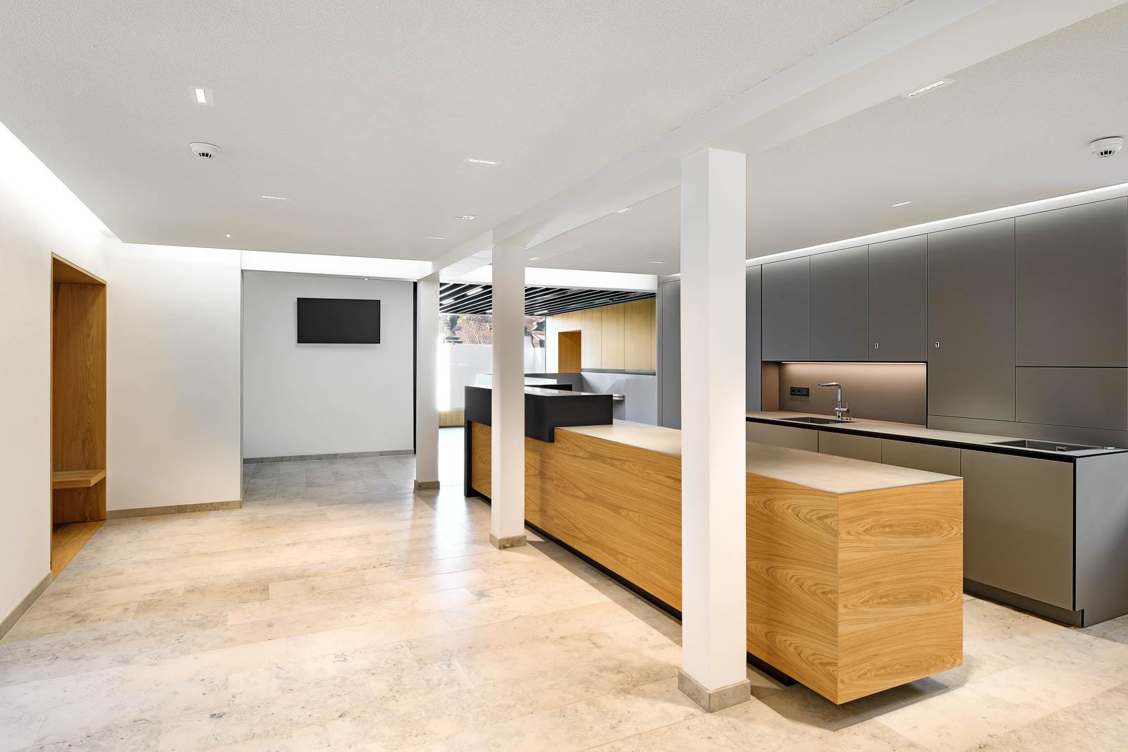 Nickel und Wachter Architekten - Sanierung Mariahilf Bamberg Aula