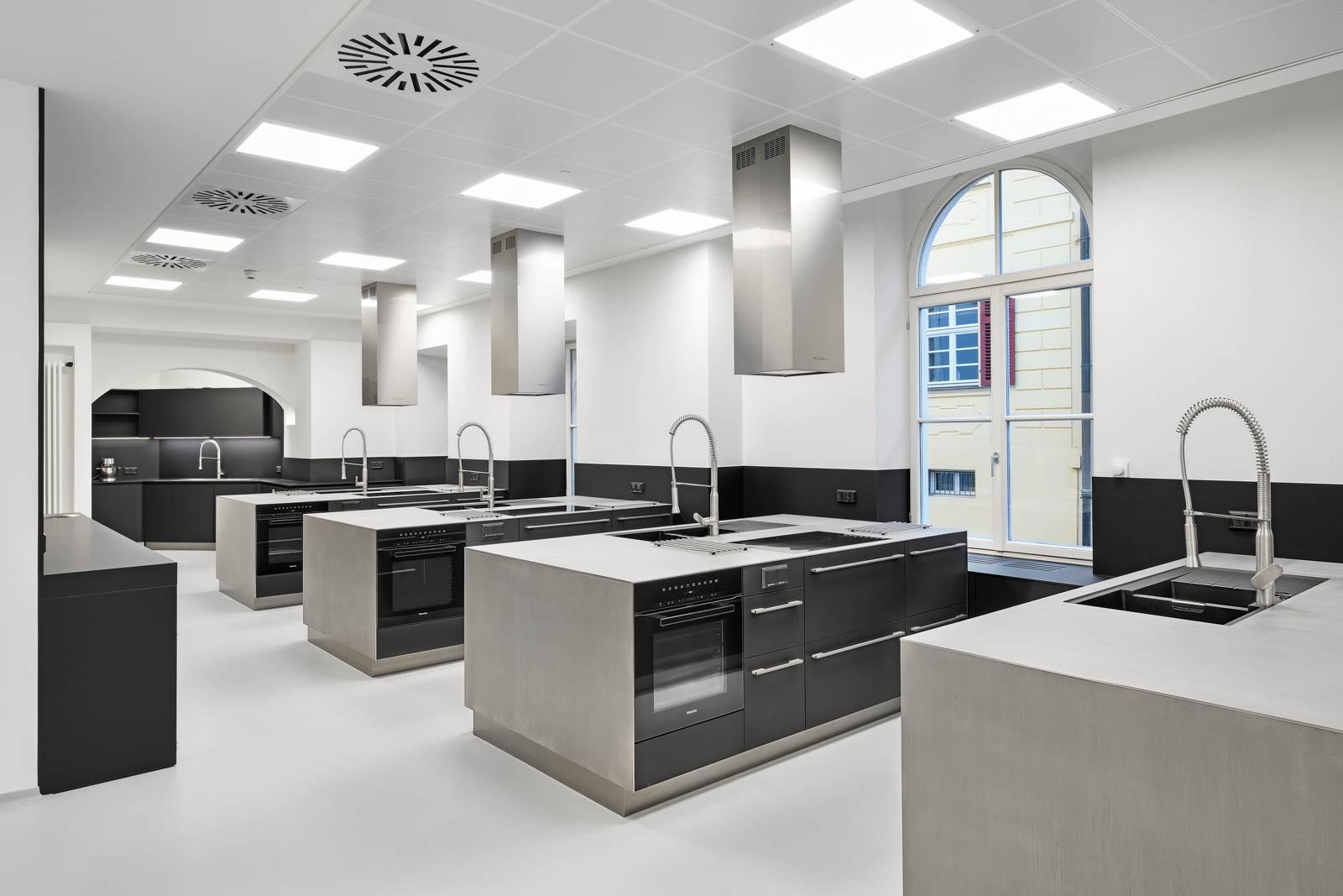 Nickel und Wachter Architekten - Sanierung Mariahilf Bamberg Hauptküche