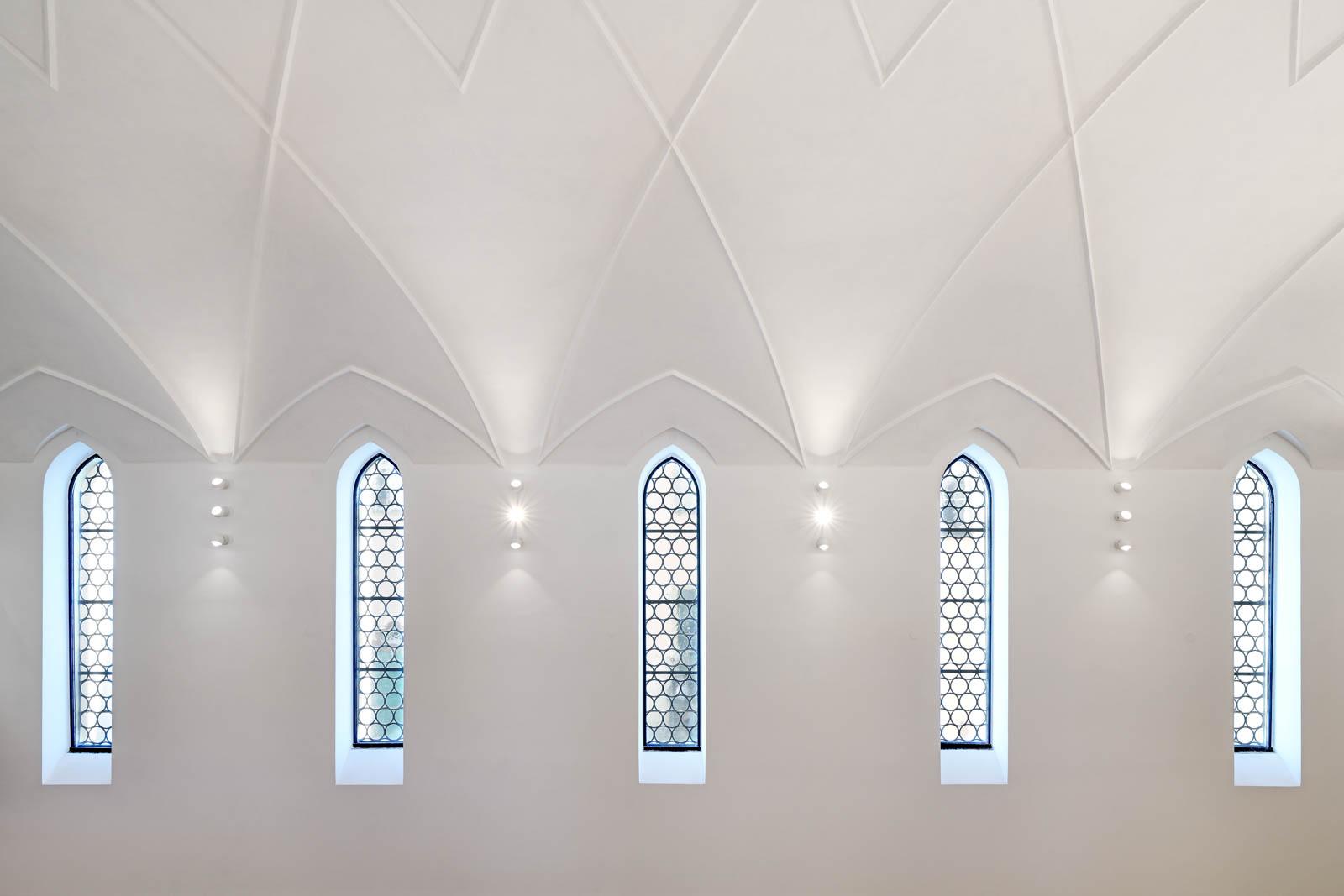 Nickel und Wachter Architekten - Sanierung Mariahilf Bamberg Kapellenfenster