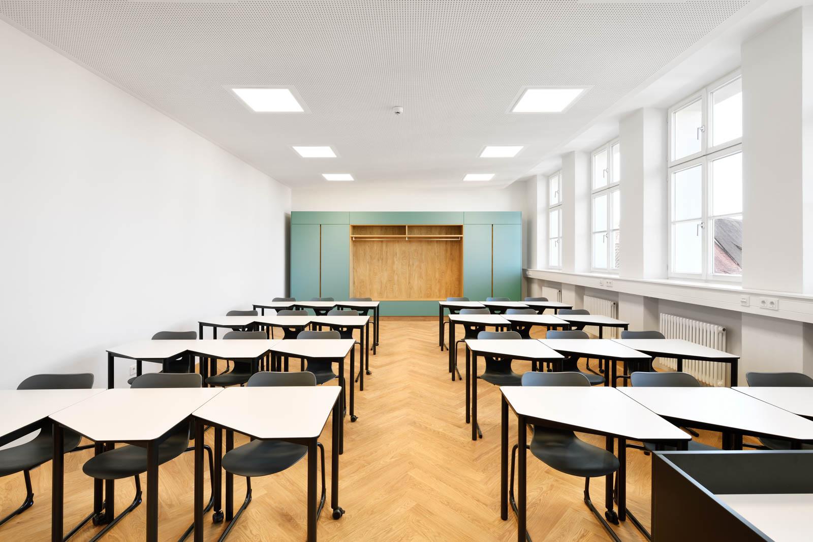 Nickel und Wachter Architekten - Sanierung Mariahilf Bamberg Klasse