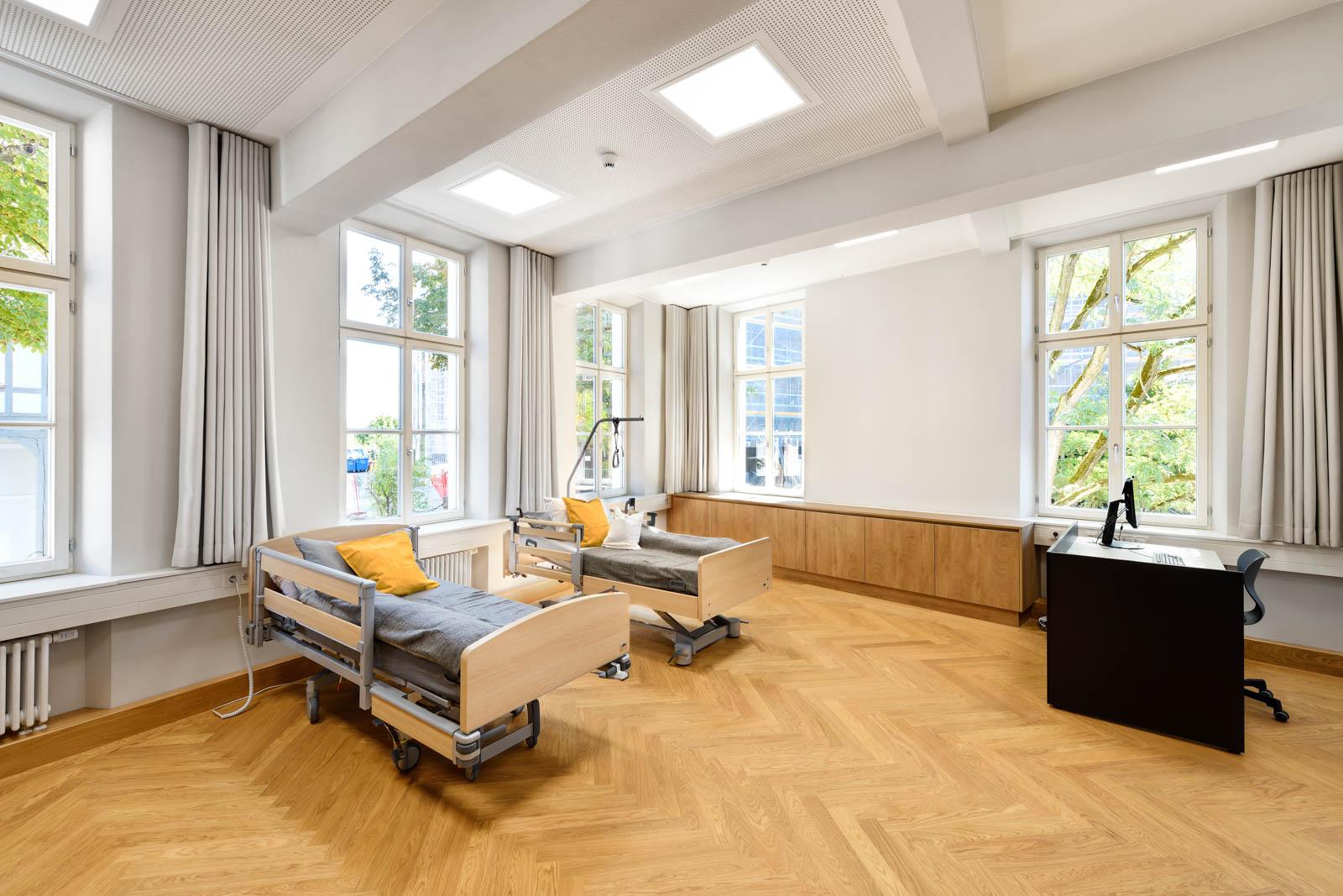 Nickel und Wachter Architekten - Sanierung Mariahilf Bamberg Pflegezimmer