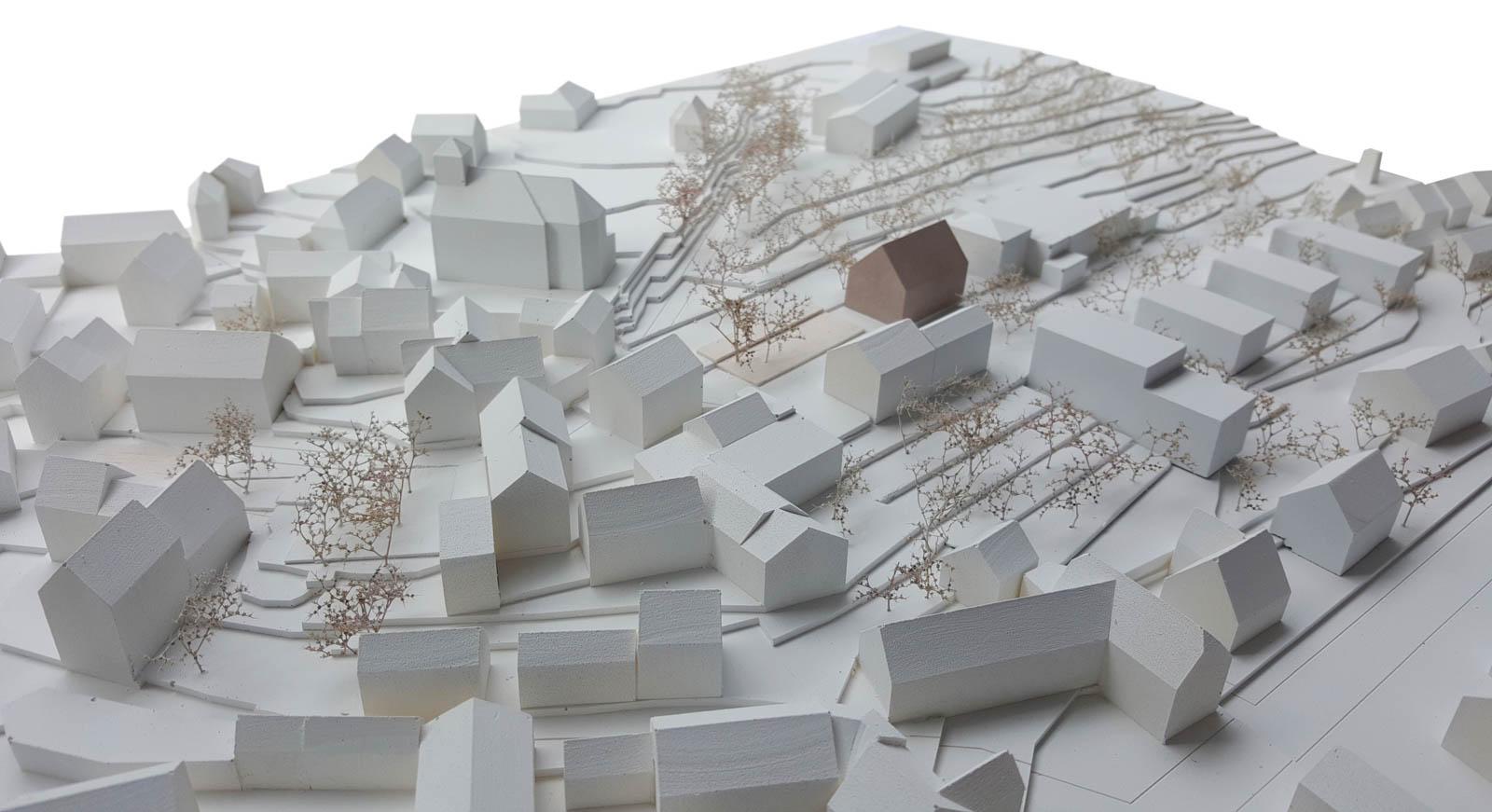 Nickel und Wachter Architekten - Klosterwiese Viereth Modell