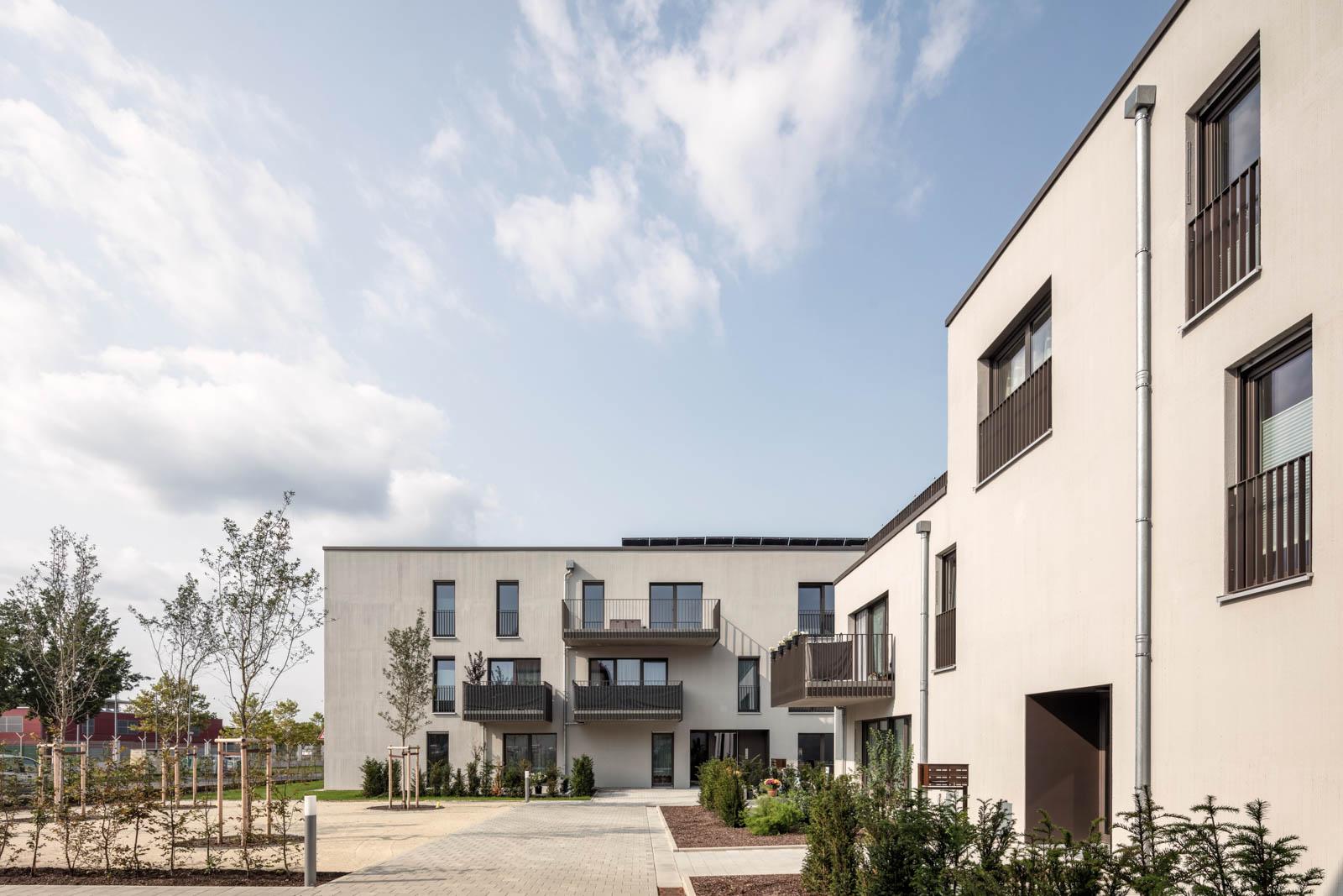 Nickel und Wachter Architekten - AdH Wohnungen in Bamberg