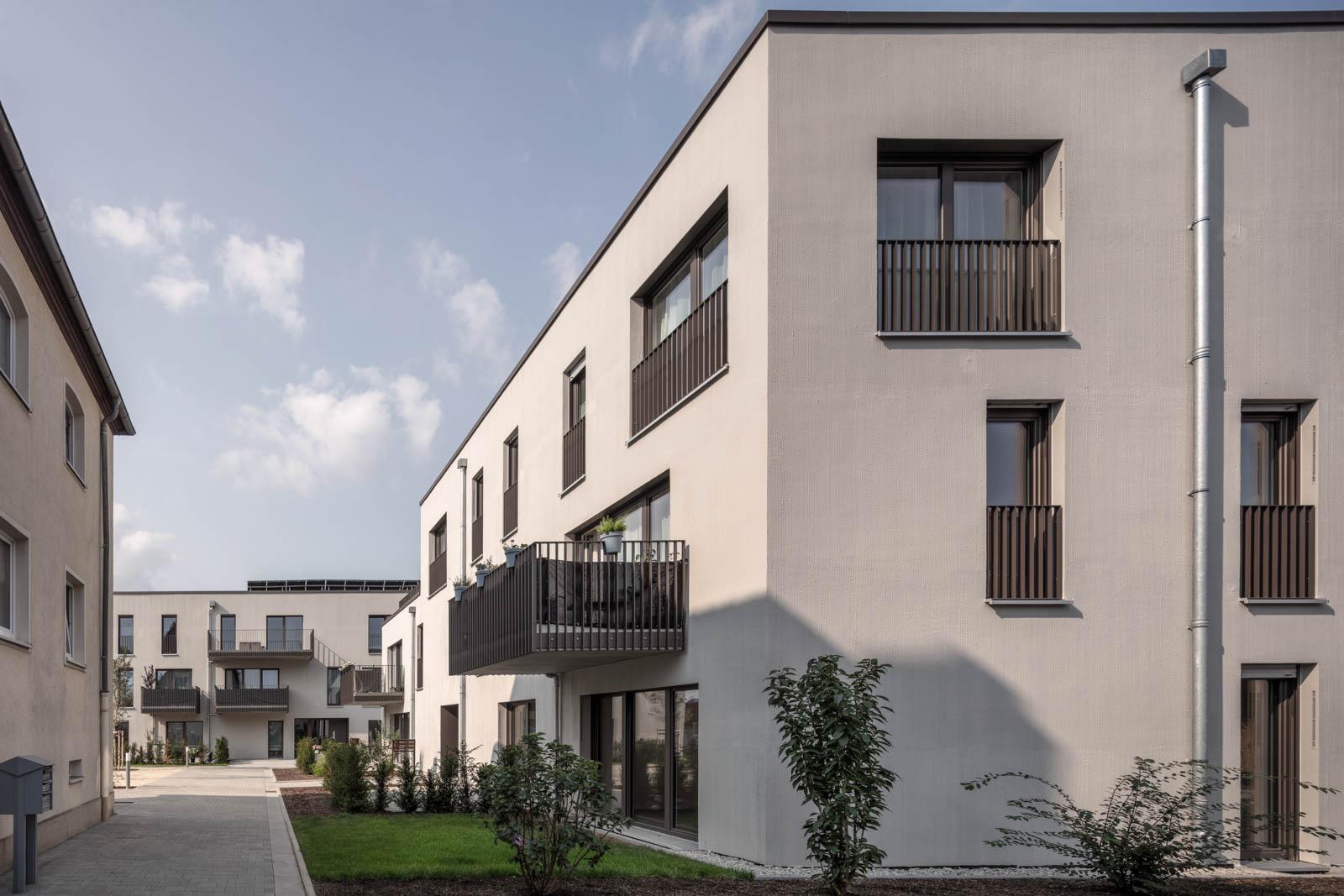 Nickel und Wachter Architekten - AdH Wohnungen Bamberg