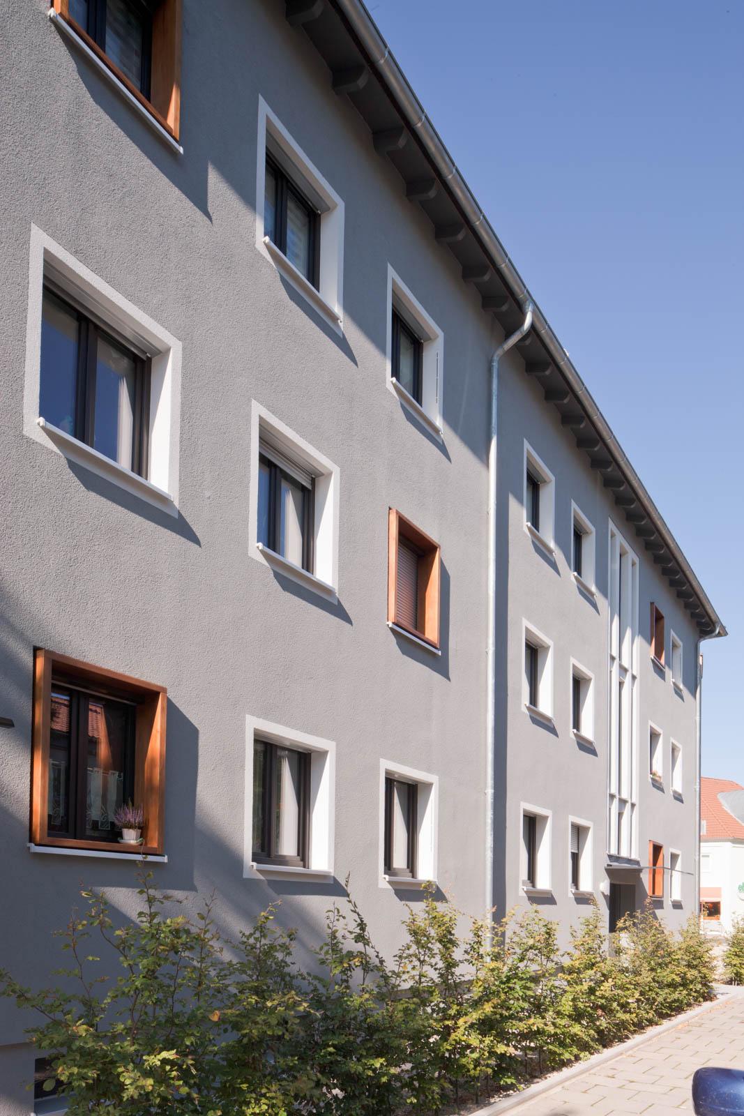 Nickel und Wachter Architekten - Mehrfamilienhaus Stadtwerke Bamberg