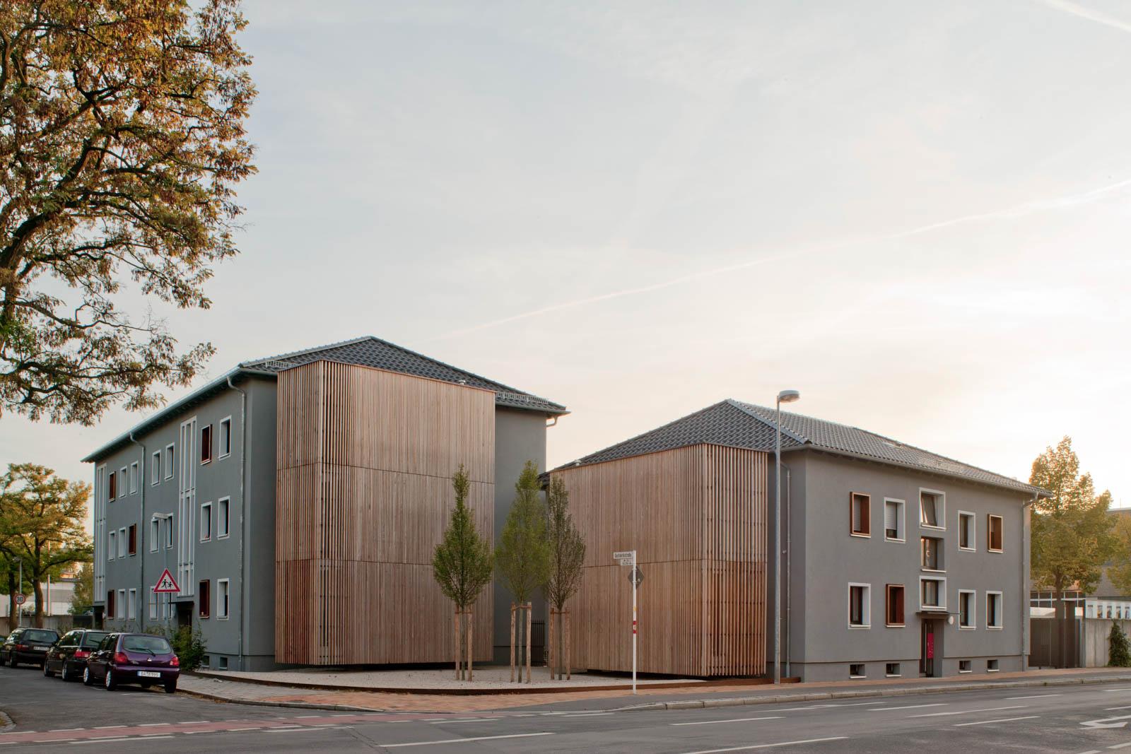 Nickel und Wachter Architekten - Wohnengebäude Stadtwerke Bamberg