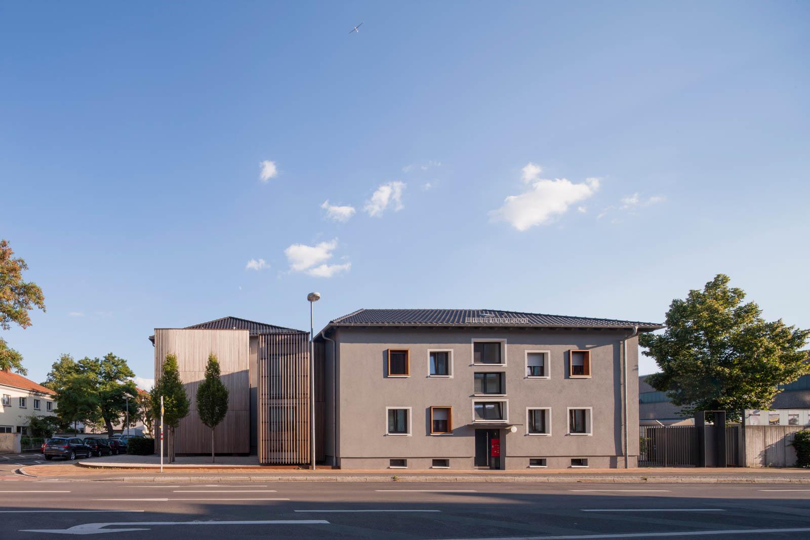 Nickel und Wachter Architekten - Wohnhaus Stadtwerke Bamberg