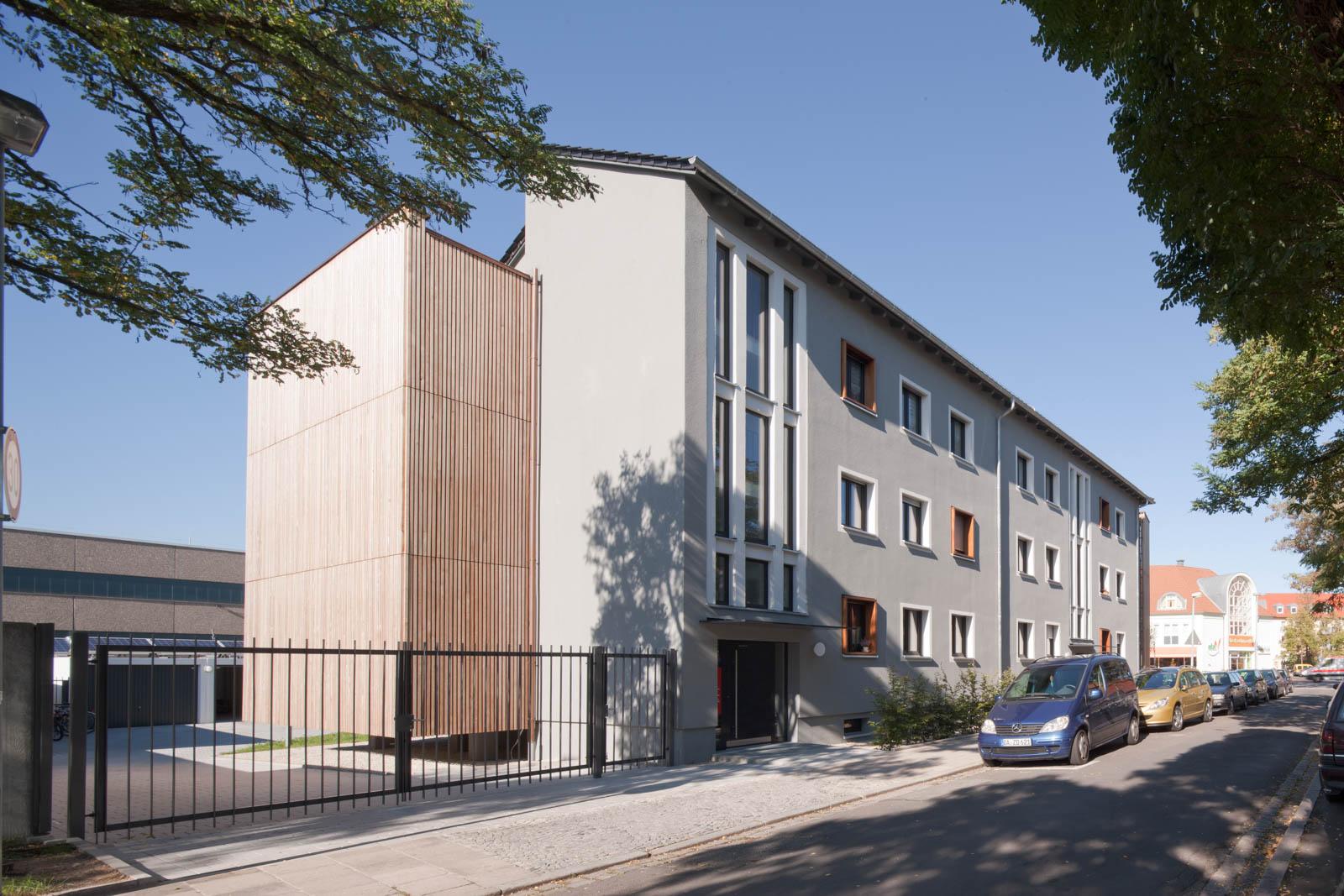 Nickel und Wachter Architekten - Wohnungsbau Stadtwerke Bamberg