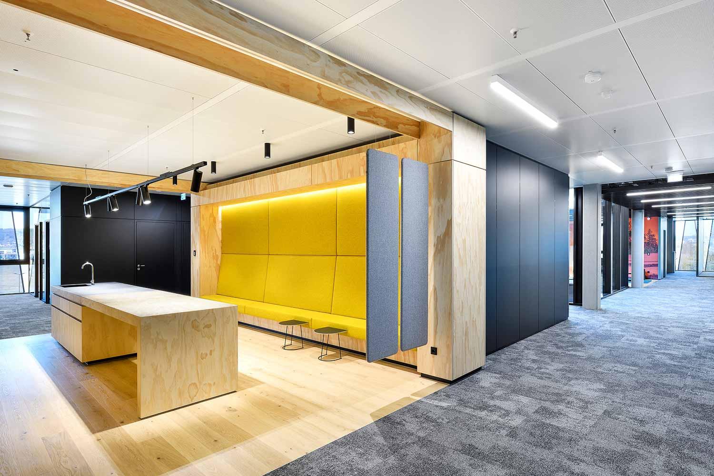 Nickel und Wachter Architekten - Lounge Dr. Pfleger Bamberg